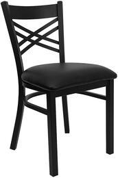 Flash Furniture XU6FOBXBKBLKVGG