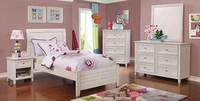 Furniture of America CM7517WHTBNCDM