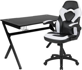 Flash Furniture BLNX10D1904WHGG