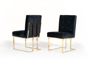 VIG Furniture VGVCB012BLKGOLD