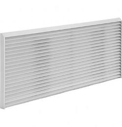 Extruded Aluminum Zoneline Architectural Rear Grille