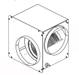 VDVI600 600 CFM Interior Ventilator for Viking Downdrafts