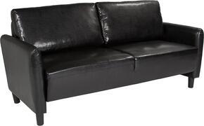 Flash Furniture SLSF9193BLKGG