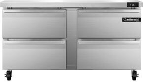 Continental Refrigerator SWF60D