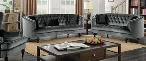 Furniture of America CM6145GYSFLVCH
