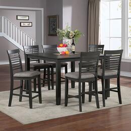 Furniture of America CM3479GYPTSC7PCSET