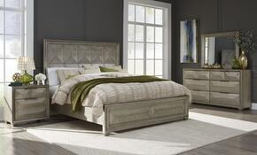 Global Furniture USA SOHOSILVERKBDMNS