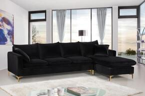 Meridian 636BLACKSECTIONAL