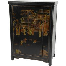 Oriental Furniture LQWINEBLK