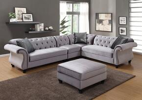 Furniture of America CM6158GYSETSFLV