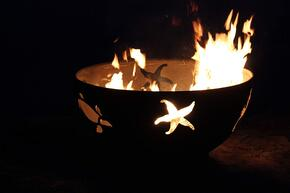 Fire Pit Art SEACREATURESFPAMLS120LPAWEIS