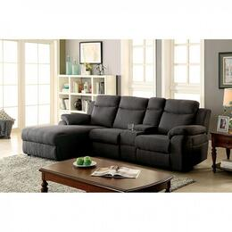 Furniture of America CM6771GYSECTIONAL