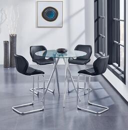 Global Furniture USA D1503BT4D1446BSBL