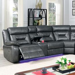 Furniture of America CM6642GYSECTPM