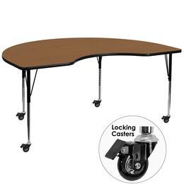Flash Furniture XUA4872KIDNYOAKTACASGG