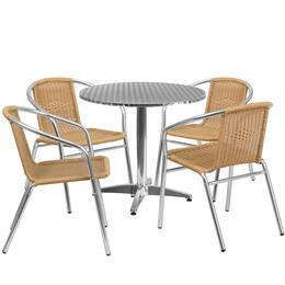 Flash Furniture TLHALUM32RD020BGECHR4GG