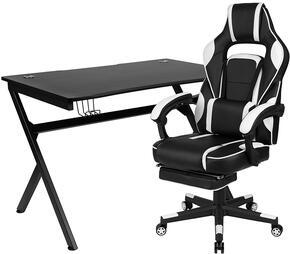 Flash Furniture BLNX40D1904WHGG