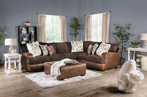 Furniture of America SM5202BRSECTSET