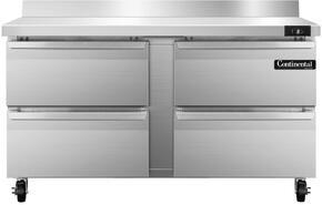 Continental Refrigerator SWF60BSD