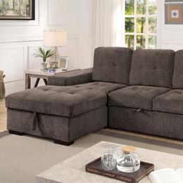 Furniture of America CM6959GYSECT
