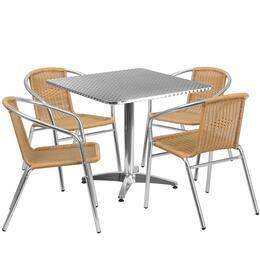 Flash Furniture TLHALUM32SQ020BGECHR4GG