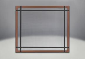 DS35BC Brushed Copper Safety Barrier with Straight Accents for HD35NT-1