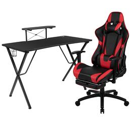 Flash Furniture BLNX30RSG1031RDGG