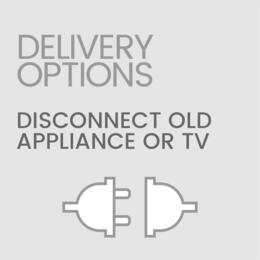 Delivery Options DISCONNECT