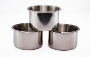 2BBO-SS-CUPHOLDERS Option for Stainless Steel Cup Holders for Poker Table