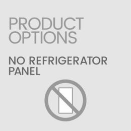 No Refrigerator/Freezer Door Panel Included (Customer Must Supply Their Own...