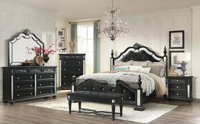 Global Furniture USA DIANABLKBDCHBMNS