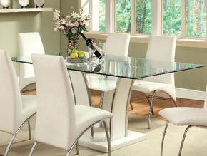 Furniture of America CM8372WHTTABLE