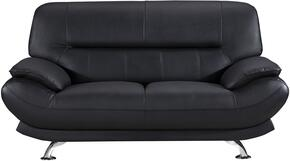 American Eagle Furniture EKB118BKLS