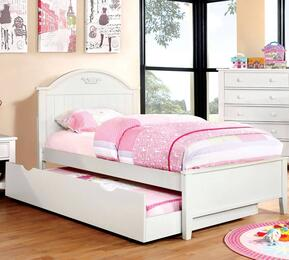 Furniture of America CM7942WHTBEDTR