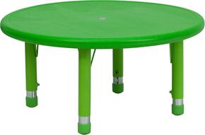 Flash Furniture YUYCX0072ROUNDTBLGREENGG