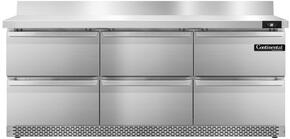 Continental Refrigerator SW72BSFBD