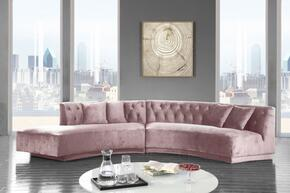 Meridian 641PinkSectional