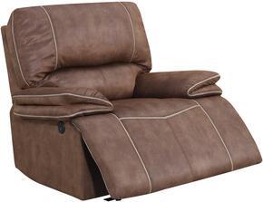 Global Furniture USA U8078SULTRYDRKBROWNPECANPR
