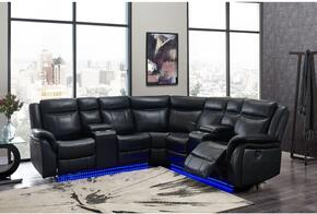 Global Furniture USA UM02BLSECTIONAL