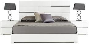 VIG Furniture VGACANCONABEDWHTQ