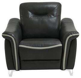 Global Furniture USA U9090BLANCHELIVDITYSTEELPR