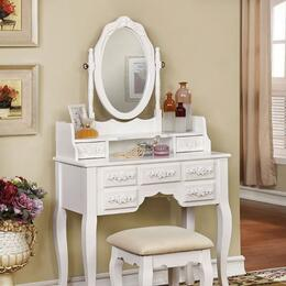 Furniture of America CMDK6845WH