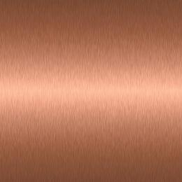 "Plated Brushed Copper Trim For 60"" Platinum Ranges (Includes Handles and Be..."