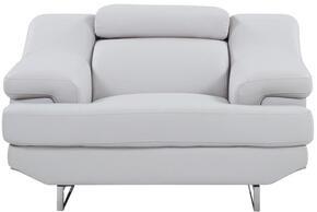 Global Furniture USA U8141LTGREYCH
