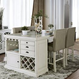 Furniture of America CM3390PTPC5PCSET