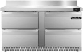 Continental Refrigerator SWF60BSFBD