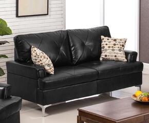 Myco Furniture 7605BKS