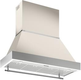 "KC48HERTAV Ivory Gloss Bisque 48"" Range Hood Canopy for K48HERTX (Hood Not ..."