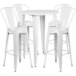 Flash Furniture CH51090BH430CAFEWHGG
