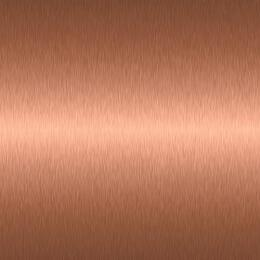 "Brushed Copper Plated Trim For 24"" Wall Oven (Includes Handles and Bezels)"